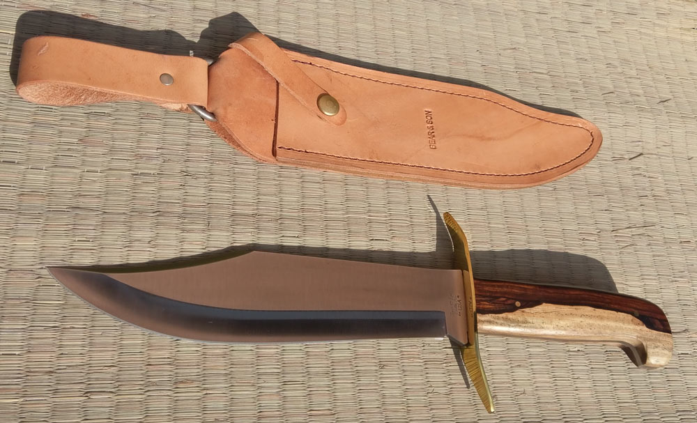 Additional photos: Gold Rush Bowie Knife