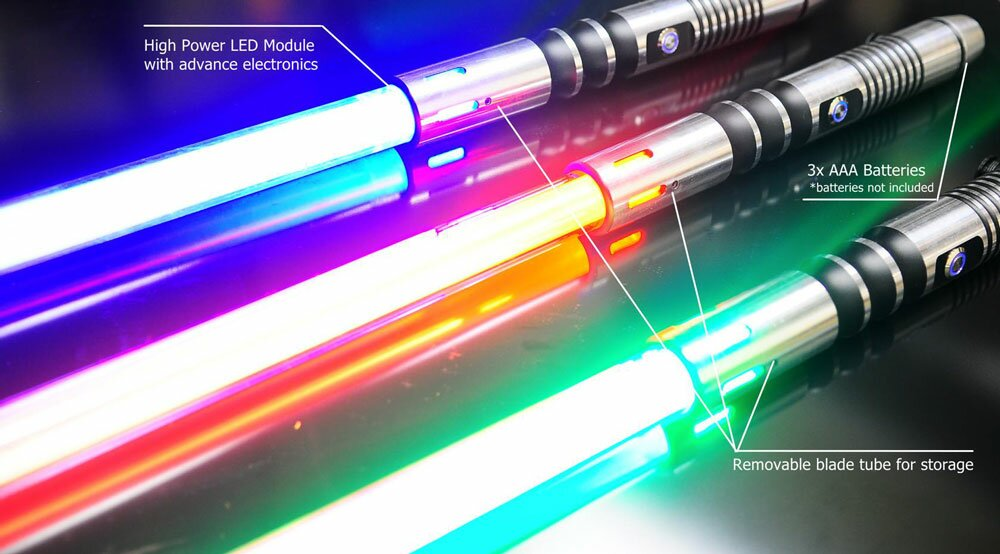 Additional photos: Green Lightsaber - No Sound Version