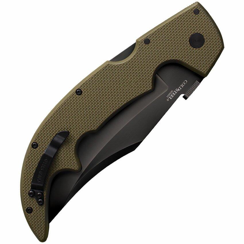 Additional photos: Knife Cold SteelLarge G-10 Espada (OD Green)