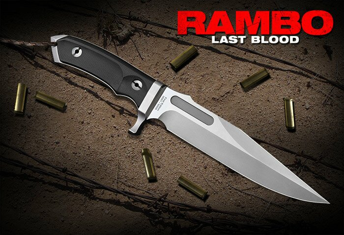 Additional photos: Rambo V Last Blood Knife Hollywood Collectibles Group