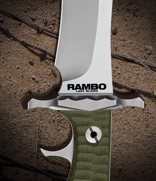 Additional photos: Rambo V Last Blood Heartstopper Knife Hollywood Collectibles Group