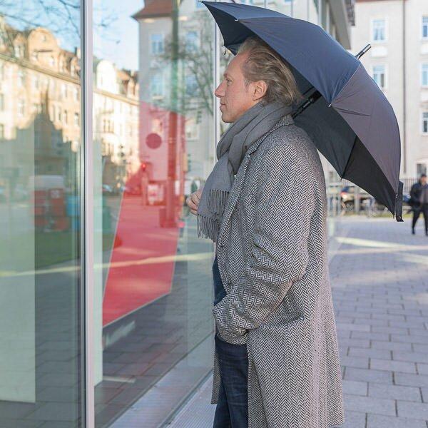 Additional photos: Security Umbrella men City-Safe round hook handle