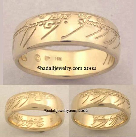 18k. Yellow Gold The One Ring