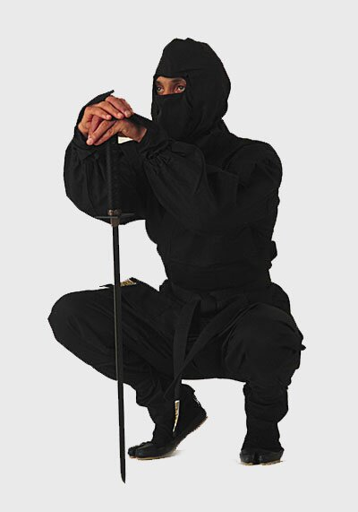 Black Ninja Uniform - GTTA502_140