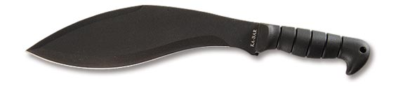 Black KA-BAR Kukri Machete