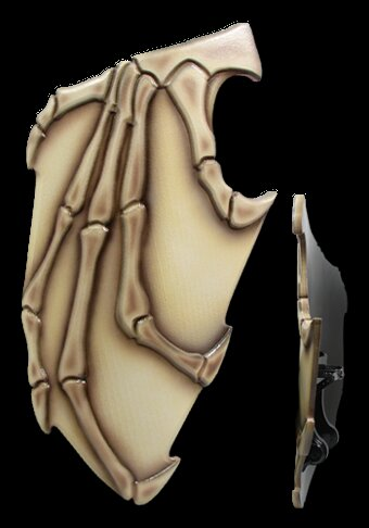Chaos 2nd Edition Bone Shield 105x55cm