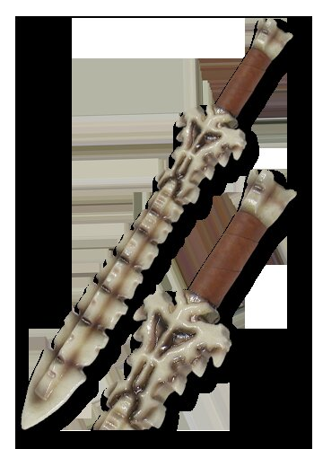 Chaos 2nd Edition Bone Shortsword 60cm