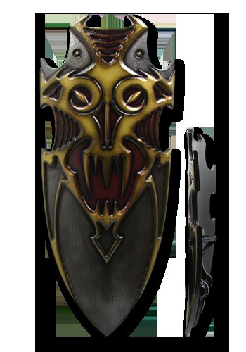 Chaos 2nd Edition Shield Chaos Lord 115x50cm