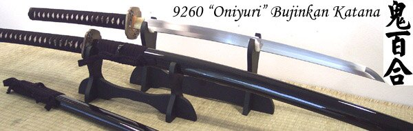 Cheness Oniyuri - 9260 Custom Bujinkan Katana