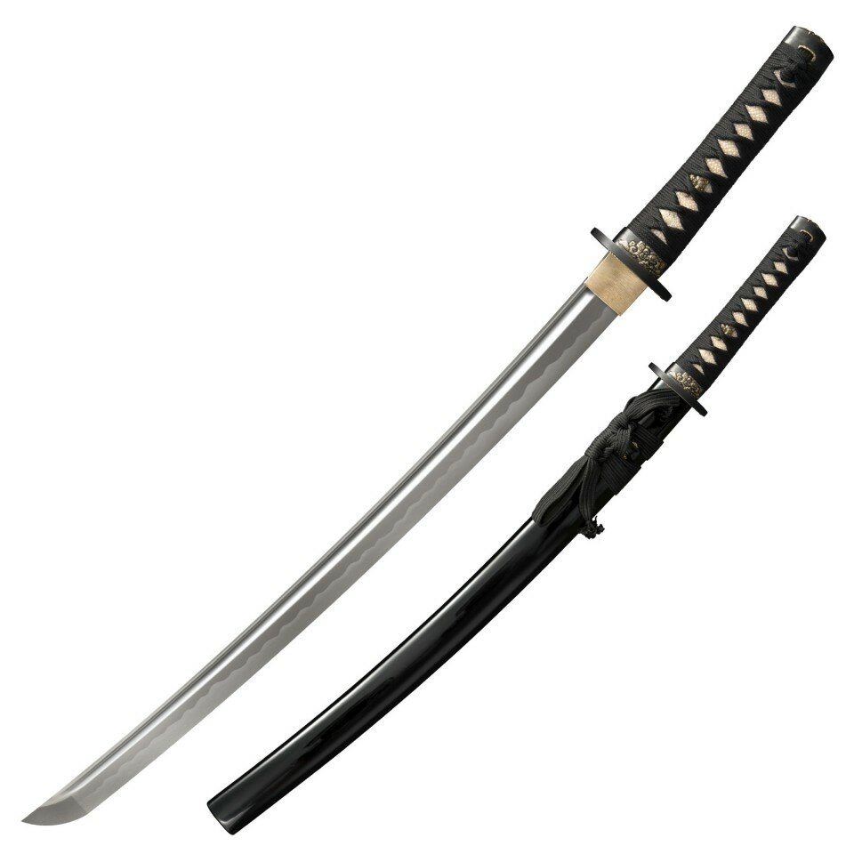 Cold Steel Gold Lion Wakizashi Sword