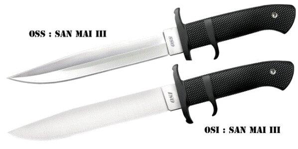 Cold Steel Knife OSS in San Mai III