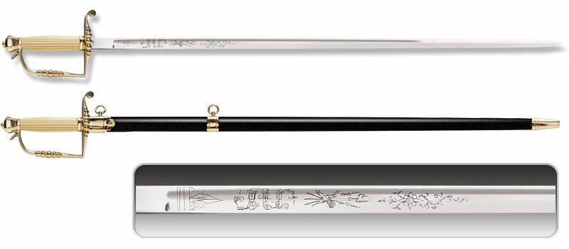Cold Steel Officer's Five Ball Spadroon