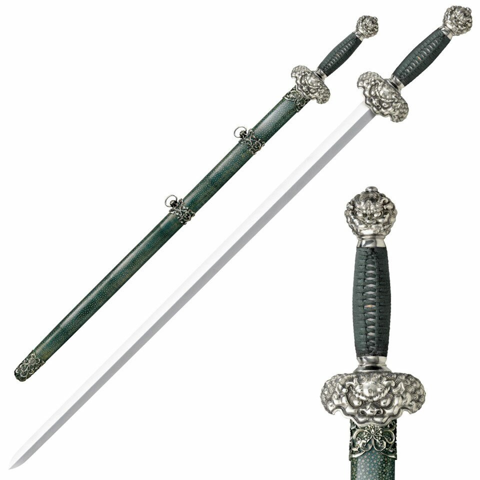 Cold Steel Sword Jade Lion Gim