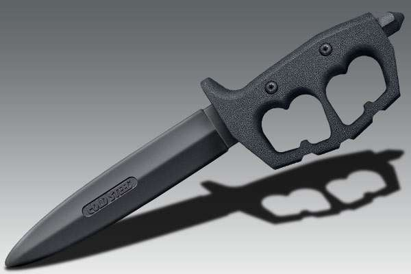 Cold Steel Trench Knife Double Edge Trainer