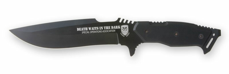 Death Waits in the Dark Fighting Knife