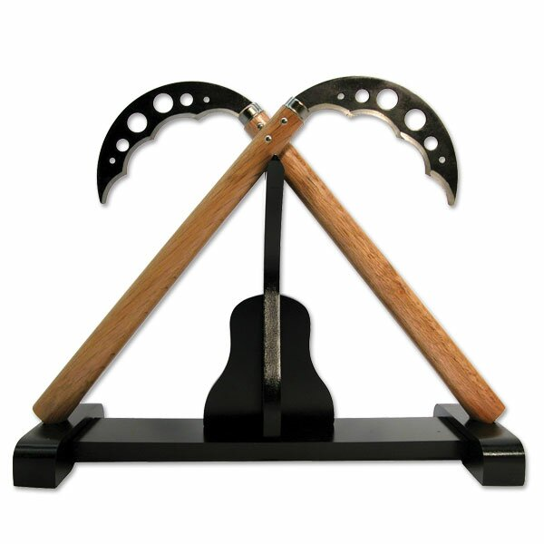 Deluxe kobudo display stand for kama