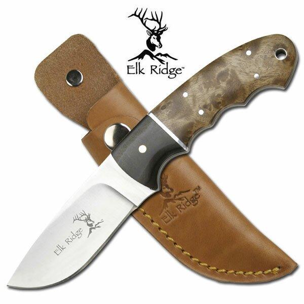 Elk Ridge Outdoor Fixed Blade Knife 8'' Overall