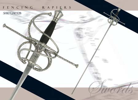 Fencing Rapier - Musketeer Blade
