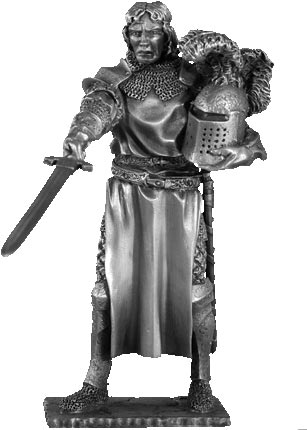 Figure Tristan - Knights of the Round Table - Les Etains Du Graal
