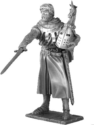 Figure Hector - Knights of the Round Table - Les Etains Du Graal
