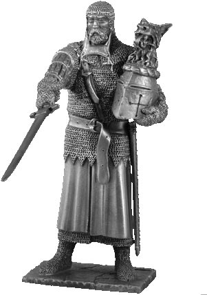 Figure Percival - Knights of the Round Table - Les Etains Du Graal