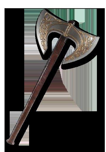 Gaelic 2nd Edition Double-headed axe 100cm