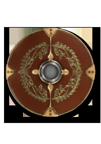 Gaelic 2nd Edition round shield Baldur 75cm
