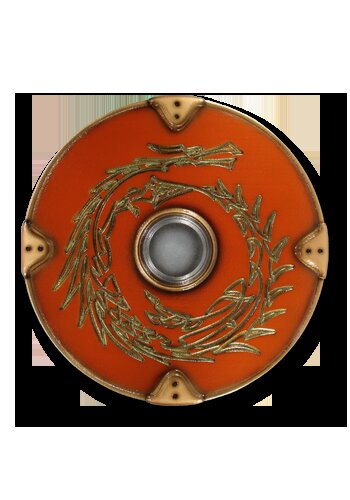 Gaelic 2nd Edition round shield Morfang 75cm