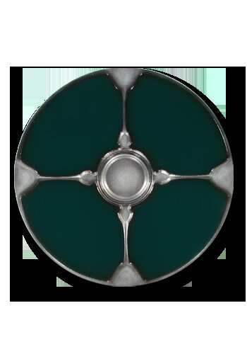 Gaelic 2nd Edition round shield green 75cm