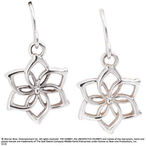 Galadriel Flower Earrings Sterling Silver - The Hobbit