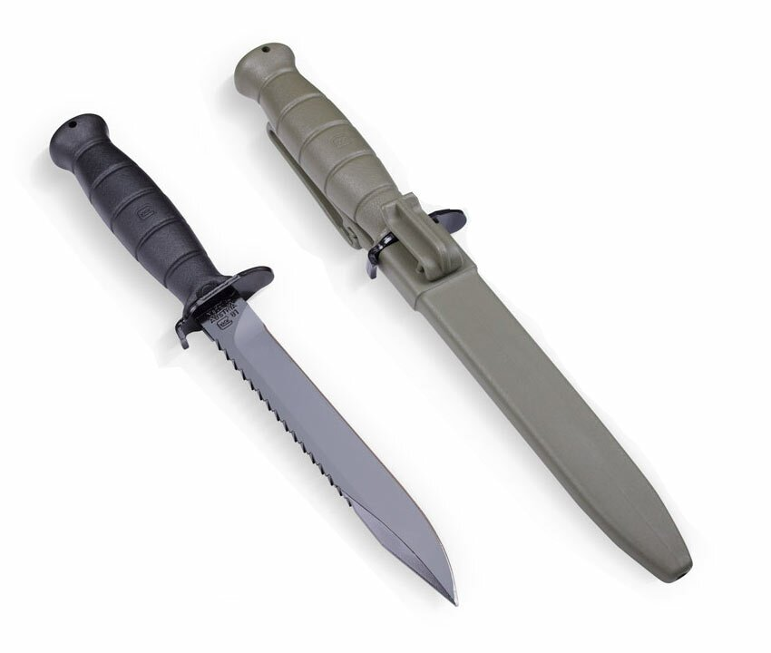 Glock 81 Battle Field Green Knife