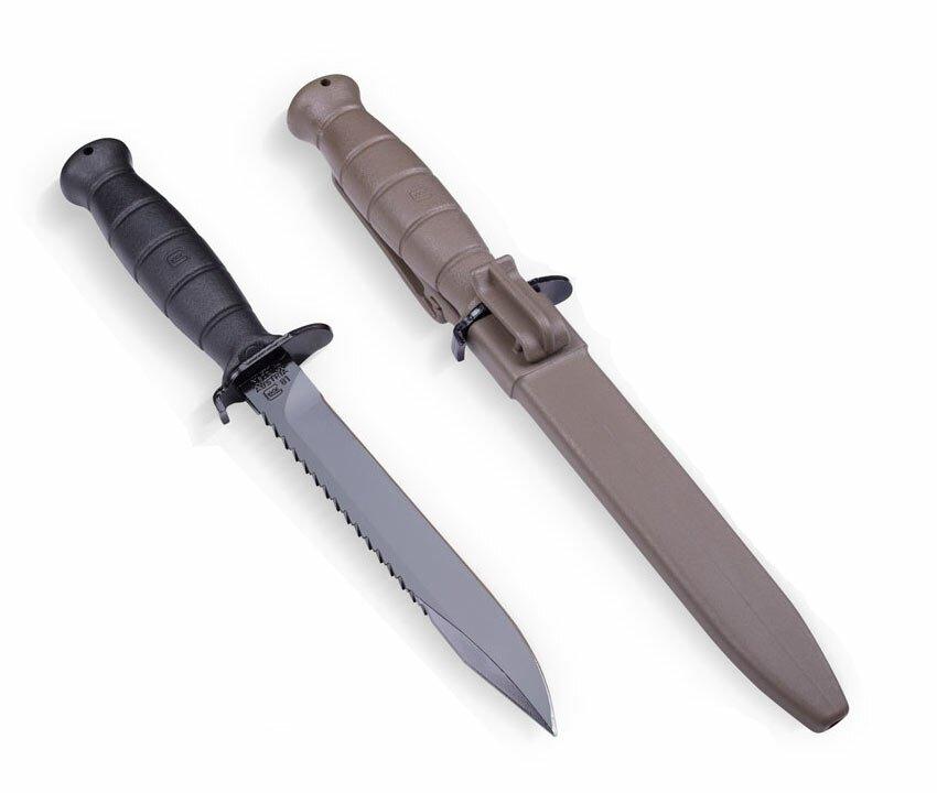 Glock 81 Flat Dark Earth Knife
