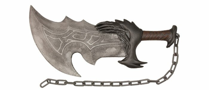 God of War Kratos Blade of Chaos Foam Sword