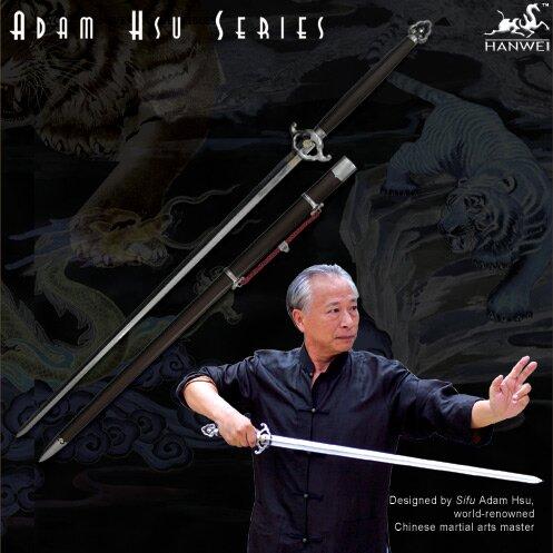 Hanwei Adam Hsu 2-Handed Jian - Wood Handle 36