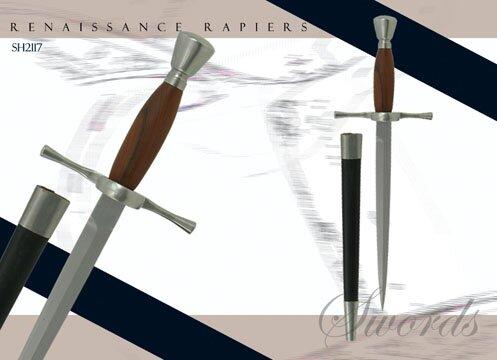 Hanwei Main Gauche - Wood Grip (matches SH1024)