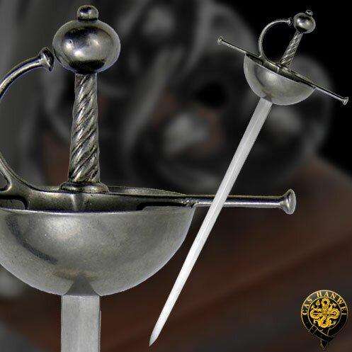 Hanwei Mini Spanish Cup-Hilt Rapier(MH2303) Mini swords