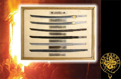 Hanwei Samurai Blade Display