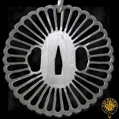Hanwei Wheel Tsuba Pendant