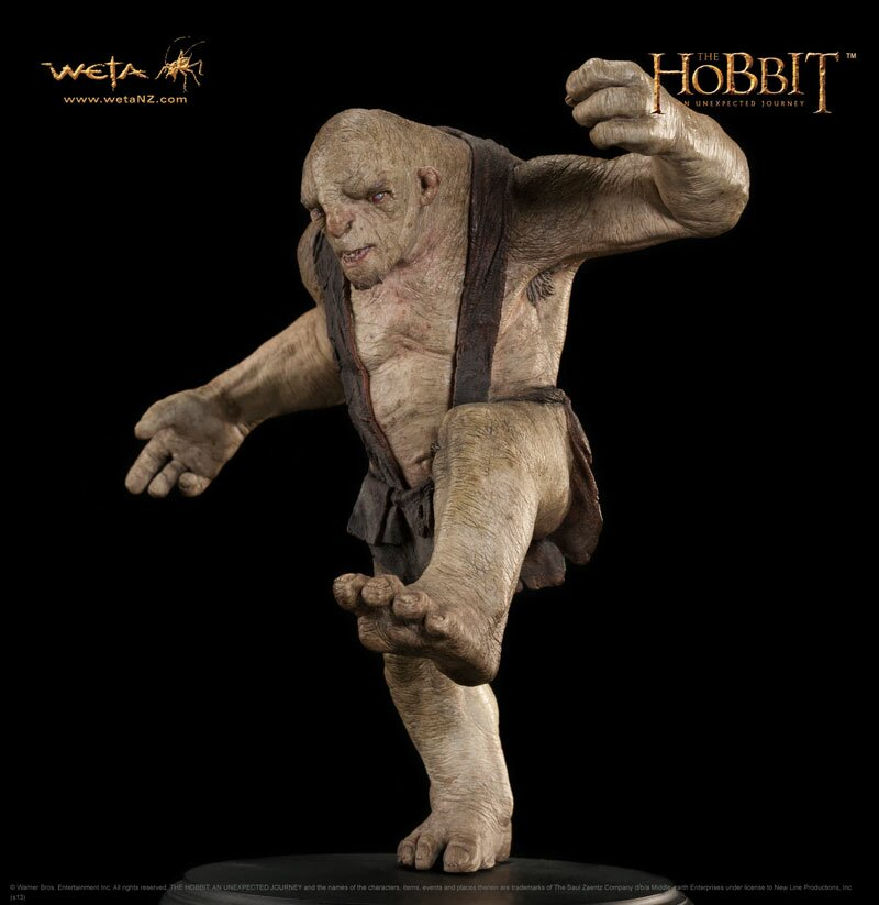 Hobbit - Tom the Troll - WETA