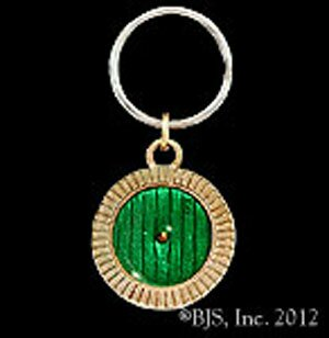 Hobbit Bronze Bag End Door Key Chain