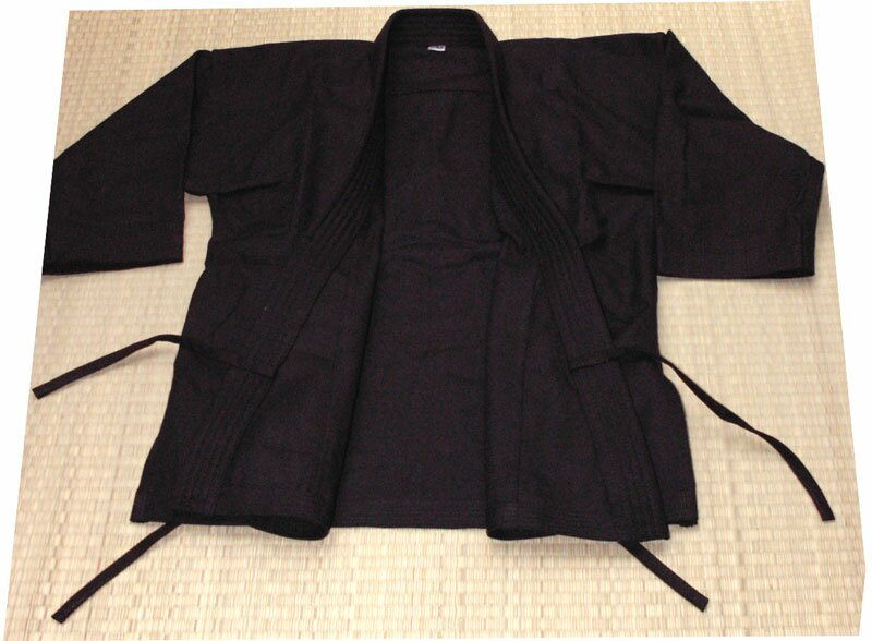 Karate Gi black 12oz