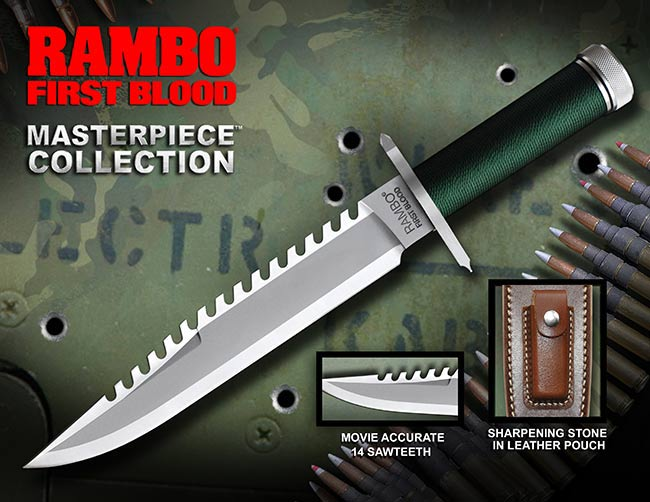 Knife Rambo I Standard Edition Hollywood Collectibles Group