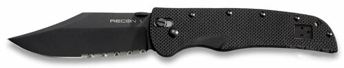 Knife Cold Steel Recon 1 Clip Point Serrated