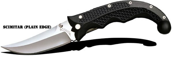 Knife Cold Steel Scimitar (plain edge)