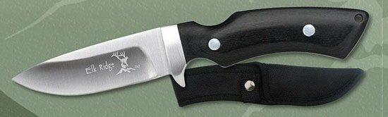 Knife Elk Ridge Trekker Pakka Wood