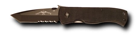 Knife Emerson CQC-7B Wave Black Serrated
