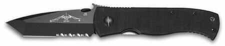 Knife Emerson Super CQC-7 Black Serrated