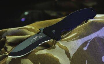 Knife Emerson UTCOM CQC-11 Black Serrated