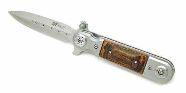 Knife M-Tech Folding Dagger Wood