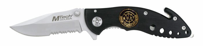 Knife M-Tech SWAT Rescue Knife Black